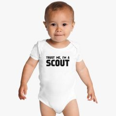 trust-me-im-a-scout-baby-onesies-white